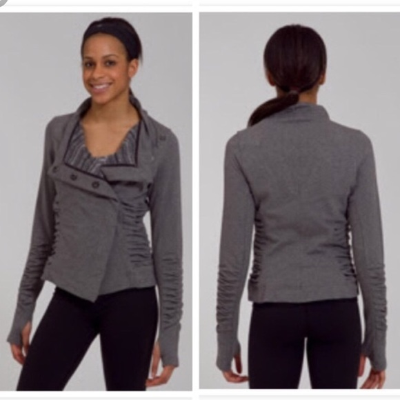 lululemon athletica Jackets & Blazers - Lululemon Solace Jacket Gray 8